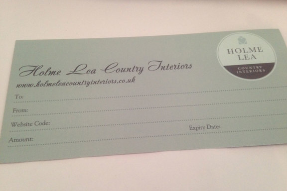 Country Interiors Gift Vouchers